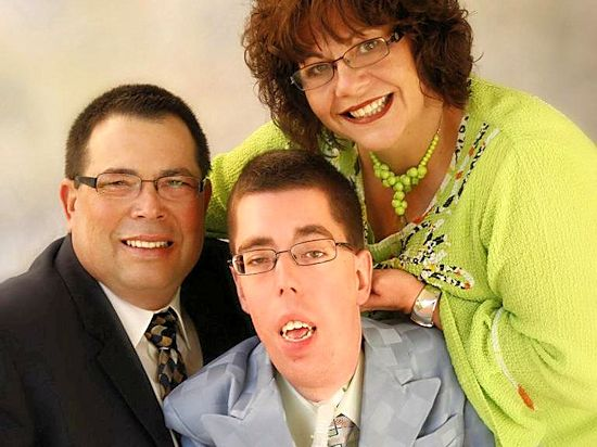 Jacob Berry Ministries: Jacob with his parents, Joe & Yvonne Berry
