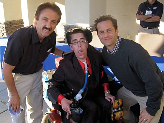 Jacob Berry Ministries: Jacob Berry with Ray Comfort and Kirk Cameron
